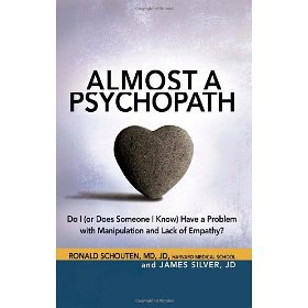 """Almost a Psychopath"" book cover"
