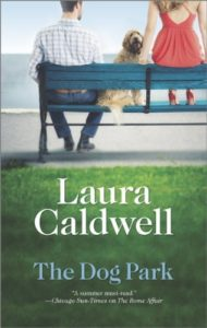 book cover the dog park