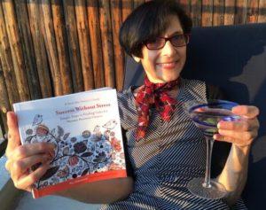 Teri Scheinzeit with her Business Book