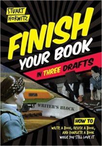finish your book in 3 drafts