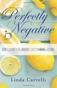book cover, perfectly negative