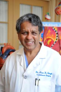 memoir author Arun Singh, MD