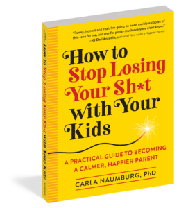 self-help parenting book cover