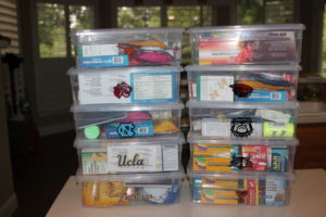 Personalized college first aid kits