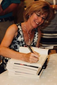 Jill Grimes, MD, author of The Ultimate College Student Health Handbook, at a book signing