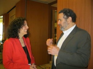 """Lisa Tener and Jon Lieff, MD, author of """"The Secret Language of Cells"""""""